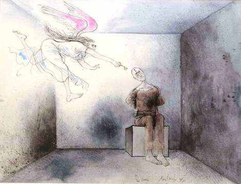 Ronald Searle – The Evasion (1998)